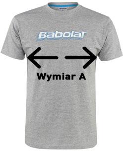 Babolat Wymiary