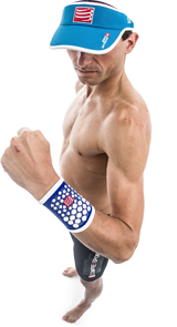 Sweat Band 3D Dots
