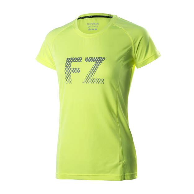 8b7d38413cb4d1 T-Shirt Damski FZ FORZA Miranda Safety Yellow