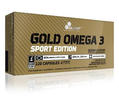 OLIMP GOLD OMEGA 3 SPORT EDITION SUPLEMENT DIETY