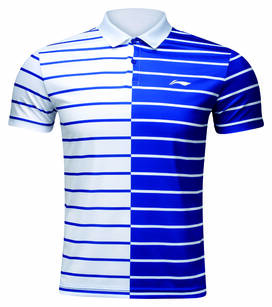 Polo Męskie FB Stripe White Li-Ning